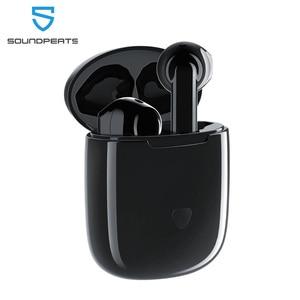 Image 1 - SoundPEATS Bluetooth 5.0 TWS écouteur Hi Fi son APTX sans fil écouteurs avec puce Qualcomm CVC suppression de bruit contrôle tactile