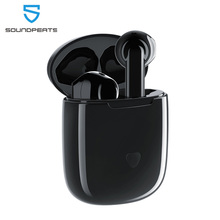 SoundPEATS Bluetooth 5.0 TWS kulaklık Hi Fi ses APTX kablosuz kulaklık Qualcomm çip ile CVC gürültü iptal dokunmatik kontrol