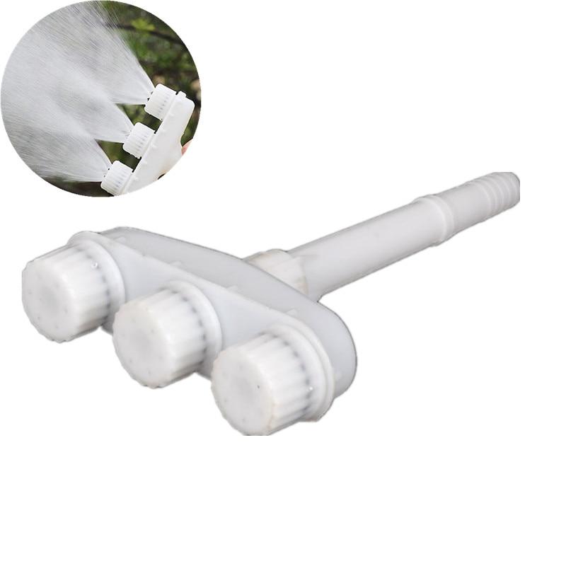 3-Head Agricultural Watering Vegetable Sprinkler Atomizing Nozzle Garden Watering Sprinkler Micro Irrigation Fittings
