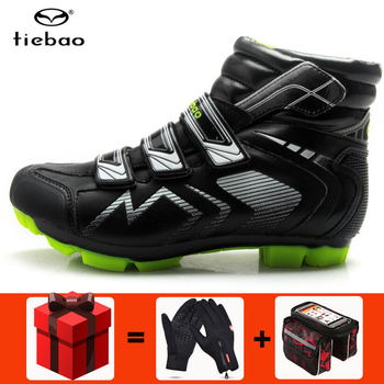 TIEBAO winter Cycling Shoes sapatilha ciclismo mtb Men sneakers Women Bike Self-Locking Shoes Breathable Bicycle Shoes