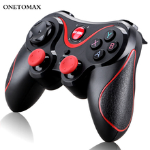 For Android Wireless Gamepad Wireless Joystick Game Controller Bluetooth Joystick For PS3 PC Mobile Phone Tablet TV Box Holder lefant g6 wireless bluetooth gamepad joystick controller for android smartphone tablet vr pc tv box ps3