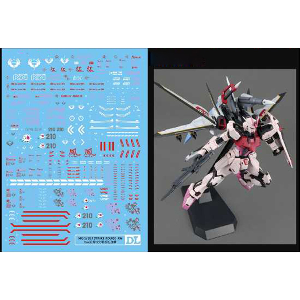 1 Pc Decal Water Slide Decal Paste Sticker For Bandai PG 1//60 Gundam Model