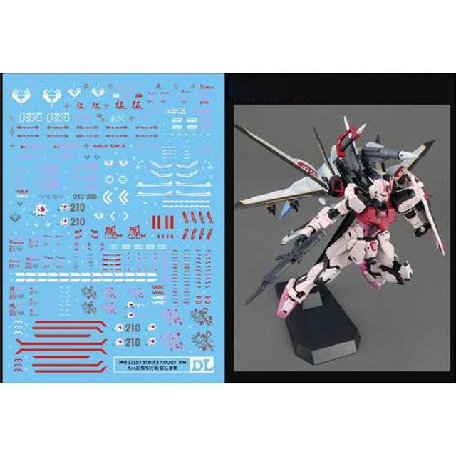Su Çıkartma Kaydırağı Çıkartmaları Macun Çıkartmalar Bandai MG 1/100 Strike Rouge RM Versiyonu Gundam model seti Aksesuarları Parçaları