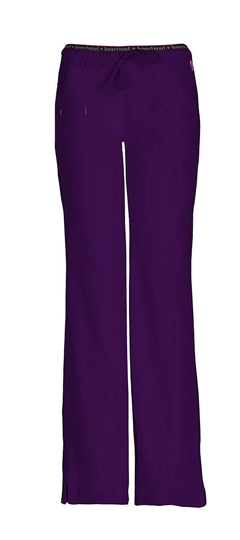 5 Pieces  Women's  V-Top   Heartbreaker  Pant Scrub Set Cargo Pants  Overalls  Straight