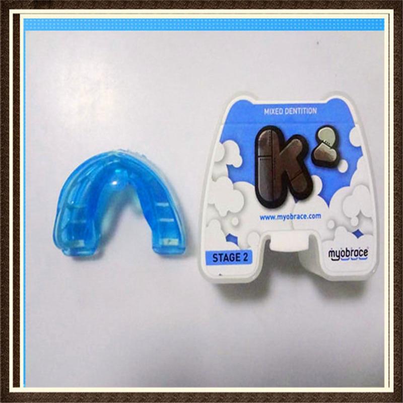 Teeth  Trainer  appliance K2 Blue/Myobrace Teeth Trainer K2/Dental Orthodontic teeth trainer K2 Blue