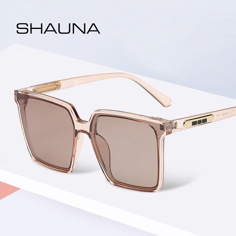 SHAUNA HD Polarized Oversize Square Sunglasses