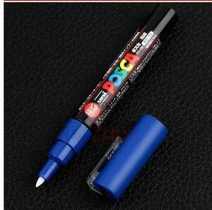 Image 5 - 12 Màu Sắc Bộ Mitsubishi Uni Posca PC 1M Sơn Marker Thêm Mỹ Đạn Tip 0.7mm Nghệ Thuật Đánh Dấu Bút Văn Phòng Học