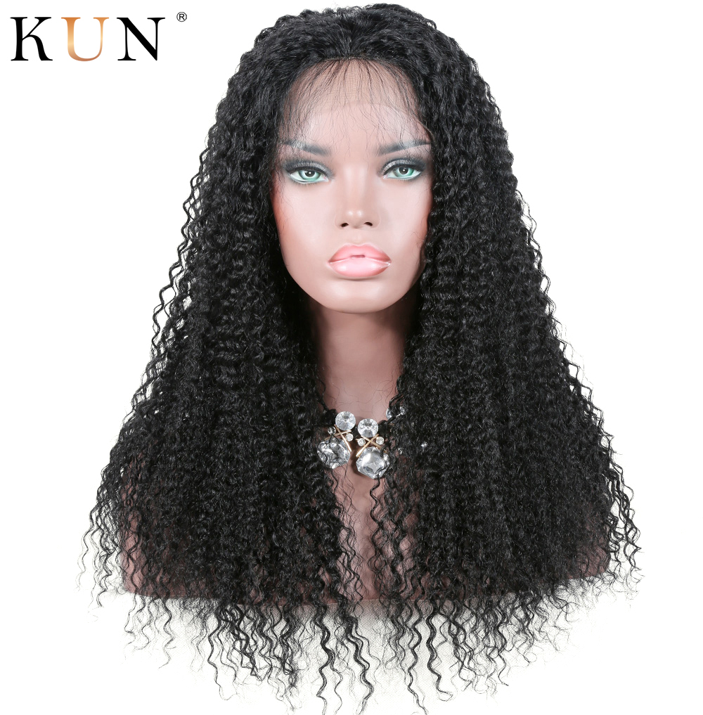 Kinky Curly Wig Lace Front Human Hair Wigs 13x6 Lace Frontal Wigs Brazilian Remy 150 180 Density Pre Plucked For Black Women