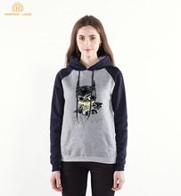 Cute Batman Print Hoodies Women 2020 Spring Autumn