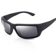 Design da marca fantail polarizado óculos de sol homem condução óculos de pesca masculino óculos quadrados uv400