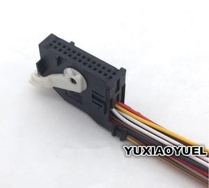 Image 1 - 26 פין/דרך ניווט בקר תקע מכשיר מחבר פנס AFS שקע חוט לרתום צמת עבור פולקסווגן אאודי 7L6 972 726