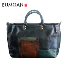 EUMOAN Original handmade leather handbag original retro vintage do the first layer of shoulder bag