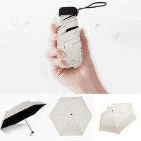 1PC creativo Anti - UV Pocket Bag Umbrella ombrello ultraleggero antivento pieghevole Mini ombrellone