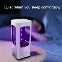 Led Mosquito Killer Lamp Anti Mosquito Trap Lamp Mata Bug Zapper USB Pest Electric Insect Repellent Repeller Light Muggen Killer electronic mosquito killer lamp smart photocatalyst light bug insect mosquito repellent repeller zapper with us plug adapter