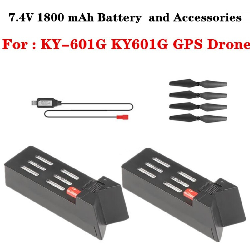 XKY KY601G KY 601G Drone Original Accessories 7.4V 1800mAh Battery Propeller And other Spare Parts For XKY KY601G KY 601G Drone|Parts & Accessories| |  - title=