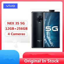 Original Vivo Nex 3 5 S 5G teléfono móvil Snapdragon 865 Android 10,0 de 6,89