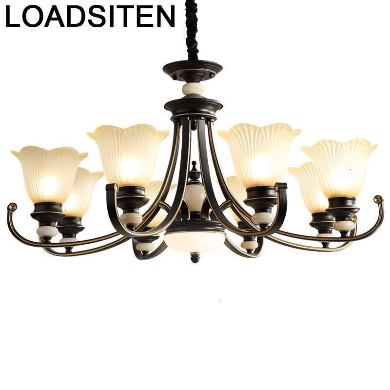 Chandelier Moderne Design Verlichting Hanglamp Vintage Light Pendente Lampara Colgante Lampen Modern Luminaria Hanging Lamp