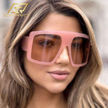 Simprect 2020 негабаритный квадратные очки солнцезащитные модные