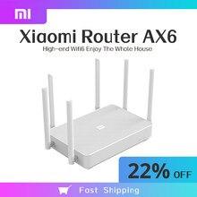 New Xiaomi Redmi Router AX6 Wifi 6 Mesh Gigabit 2.4G/5.0GHz Dual-Band Wireless Router Signal Amplifier 6 High Gain Antennas