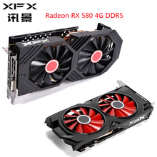 Video-Card-Gamer Ddr5-Graphics-Card Gaming Pc Amd Radeon Rx580 4gb XFX Computer 256-Bit
