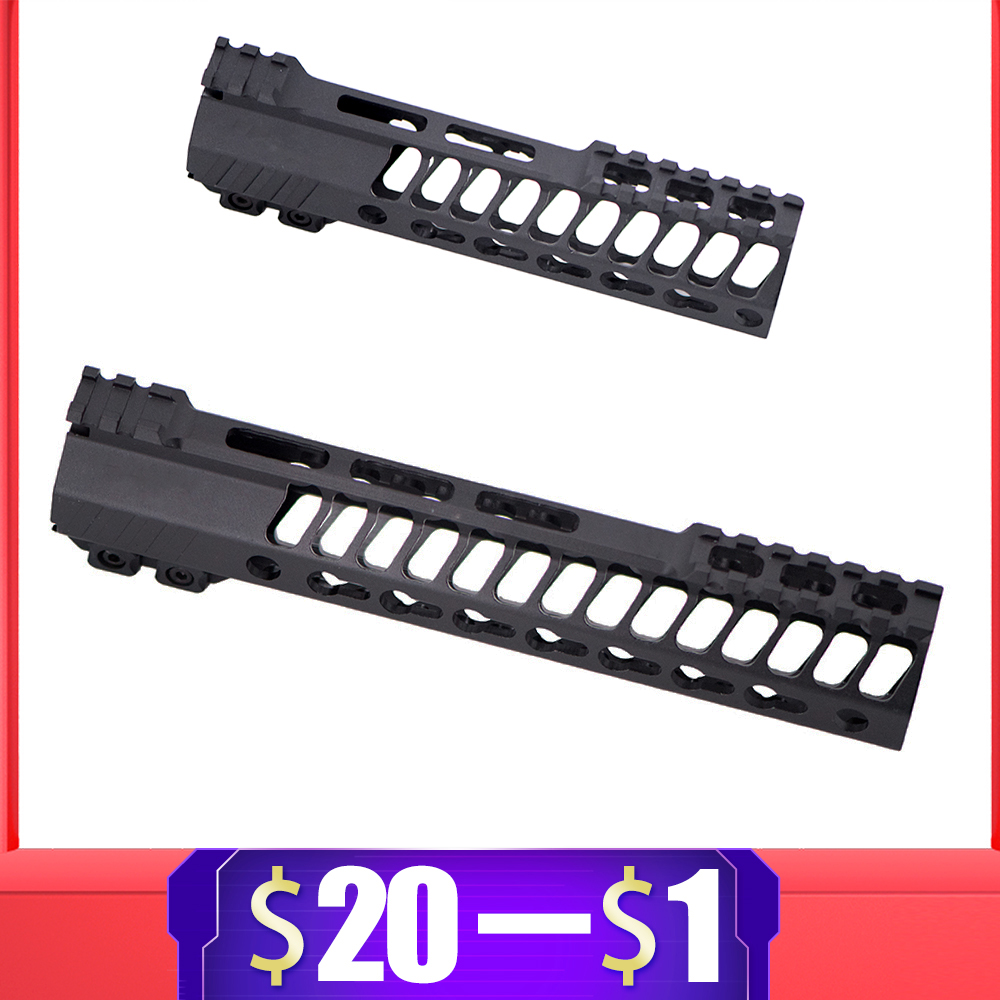 New CNC Aluminium Recommend Handguard Rail For Gel Blaster For SLR JinMing9 AEG Airsoft M4 M16 BD556 TTM Paintball Accessories
