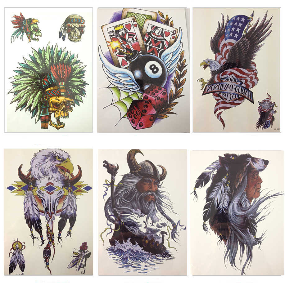 New Arrival 21 X 15 Cm Balls And Cards Temporary Tattoo Stickers Temporary Body Art Waterproof Sticker Advertising For Cars Stickers Nail Artstickers Quality Aliexpress