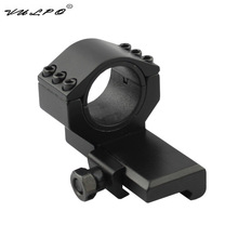 Rail-Mount Sight Glass 30mm Scope Vulpo Tactical 3-X-Magnifying for M2 M3 Red Dot