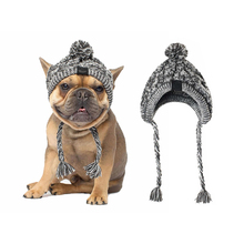 Hat Pet-Hair-Accessories Chihuahua Pet-Headgear Knitted Winter Fashion for Hot New Warm-Fur-Ball