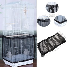 Shell-Skirt Cover Cage-Accessories Seed-Catcher Bird Basket-Net Traps Dustproof Adjustable