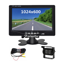 Car-Monitor Rearview-Camera-Optional Parking-Assistance Hd-Screen Universal 7-1024--600