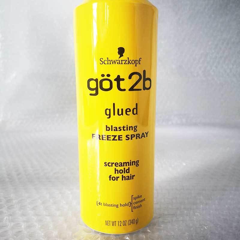 estilo do cabelo humano gel spray 12oz
