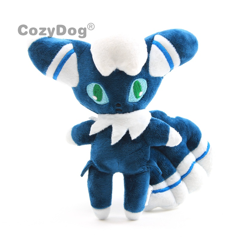 "Anime Male Meowstic Plush Toy Cute Lovely Stuffed Dolls 7""18 Cm Children Gift"