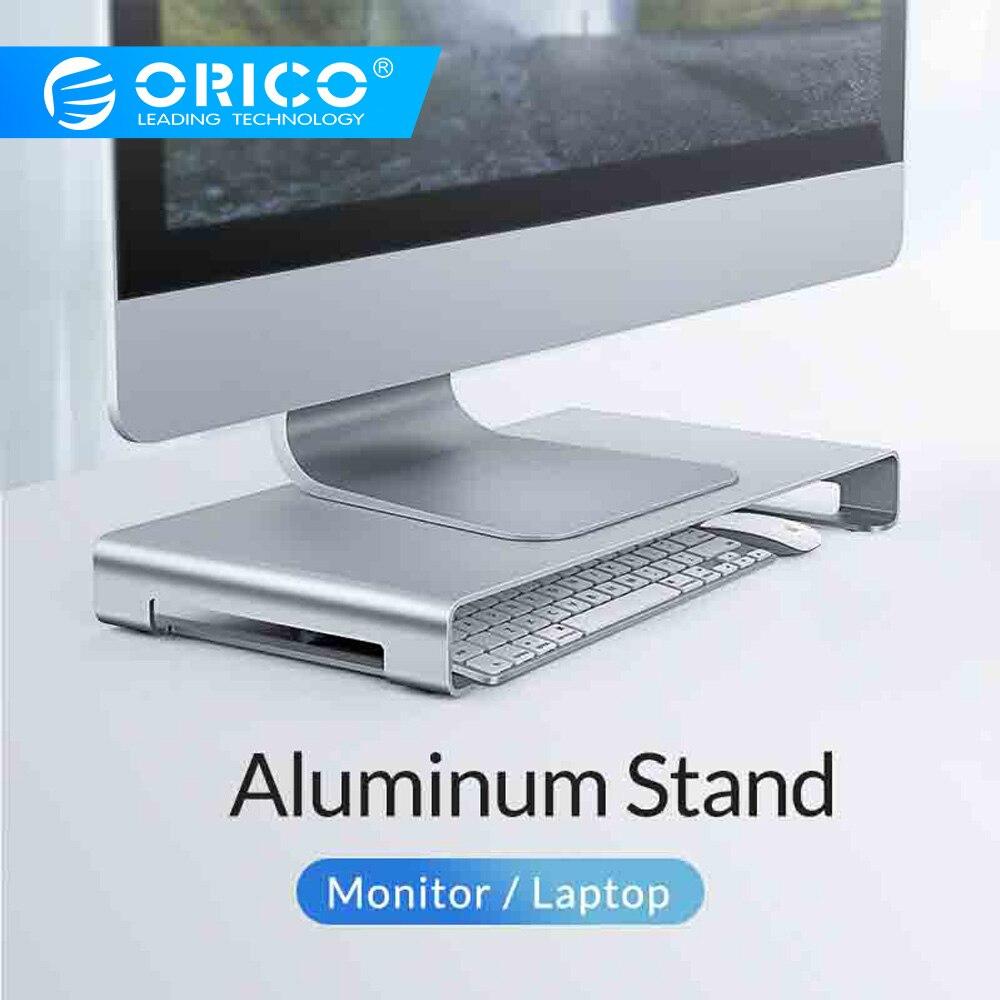 ORICO Portable Aluminum Monitor Stand Computer Universal Metal Desk Stand Desktop Stand For IMac MacBook Lenovo Dell