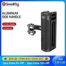 """Smallrig alça lateral universal de alumínio para a gaiola da câmera que caracteriza dois 1/4 """"furos da linha com distância de 18mm no lado 2425"""