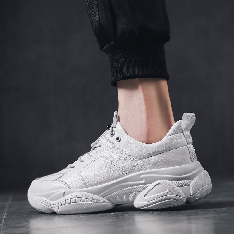 2019 Spring Hot Selling Coconut Shoes Athletic Shoes Running Shoes Casual Shoes White Shoes MEN'S SHOES Single Shoes