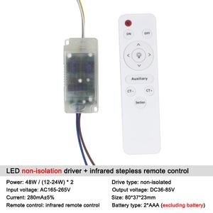 Image 5 - 8 120W 입력 AC 220V 현재 220 300mA 비 절연 Treiber 변압기 일정한 LED 운전사 전력 공급은 led 빛을 위해 적응시킨다