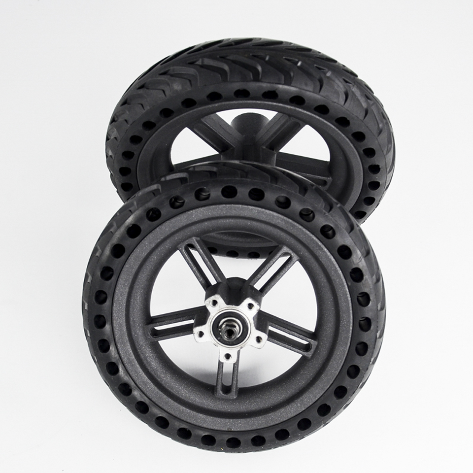 2019 Scooter Tyres Rear Wheel Hub For Xiaomi Mijia M365 8.5 Inch Damping Solid Tyres Hollow Non-Pneumatic Tires Original Factory