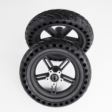 2019 Scooter Tyres Rear Wheel Hub For Xiaomi Mijia M365 8.5 Inch Damping Solid Tyres Hollow Non Pneumatic Tires Original Factory