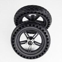 2019 roller Reifen Hinten Rad Hub Für Xiaomi Mijia M365 8,5 Zoll Dämpfung Solide Reifen Hohl Nicht Pneumatische Reifen original Fabrik