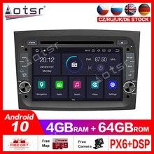 Android10.0 4G + 64GB DVD Player Built in DSPรถวิทยุมัลติมีเดียสำหรับFIAT DOBLO opel Combo TOUR 2016 2018 GPS Navigation