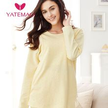 YATEMAO Winter Autumn Pregnancy Clothes Maternity Nursing Tops Cotton