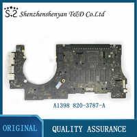 Placa base A1398 para Macbook Pro Retina, 15,4