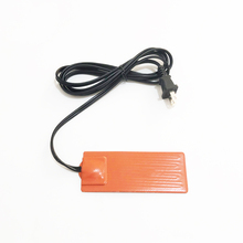Car Engine Oil Pan Sump Tank Heater 2''x4'' Silicone Oil Heating Pad