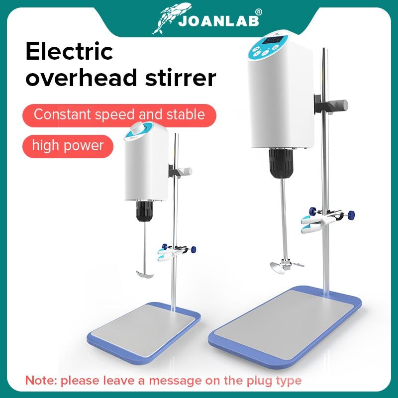 JOANLAB Official Store Laboratory Stirrer Electric Stirrer Digital Display Overhead Stirrer Lab Mixer Lab Equipment 110V To 220V 1