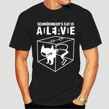 Tazza Schrodingers Cat Dead Alive da Donna Divertente Sheldon Cooper T-Shirt 5282X