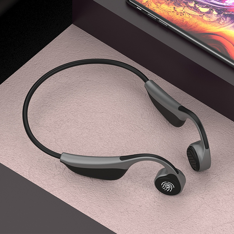 New <font><b>V9</b></font> Wireless <font><b>Bluetooth</b></font> 5.0 Headphones Bone Conduction Earphone Outdoor Sport <font><b>Headset</b></font> with Microphone <font><b>Headsets</b></font> PK Z8 <font><b>Headset</b></font> image