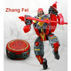 Image 3 - WJ LUBO Action Figure Toys Chess Chaft Romance of the Three Kingdoms Deformation Transformation