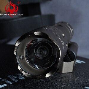 Image 5 - Night Evolution Tactical Flashlight WMX200 Red IR Light Rifle Fold Mount Hunting Lamp Gun Weapons Light NE08036