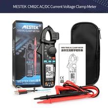 MESTEK CM82C DC Current Digital Clamp Meter True RMS AC/DC Current Voltage Auto Range Multimeter VFC Capacitance NCV Multimetro