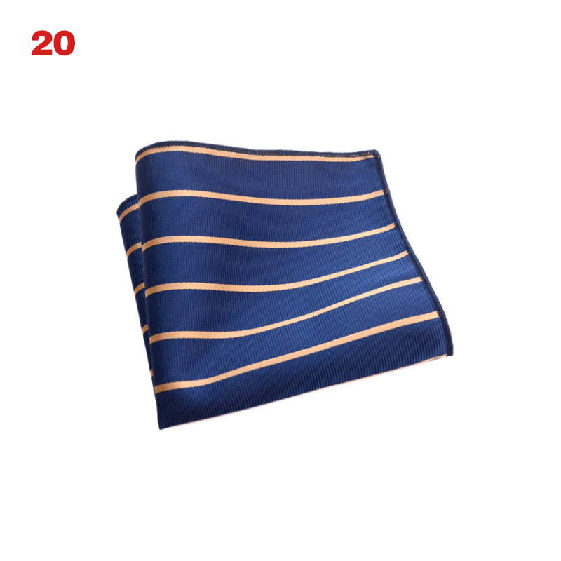 Vintage Men British Design Floral Print Pocket Square Handkerchief Chest Towel Suit Accessories B99